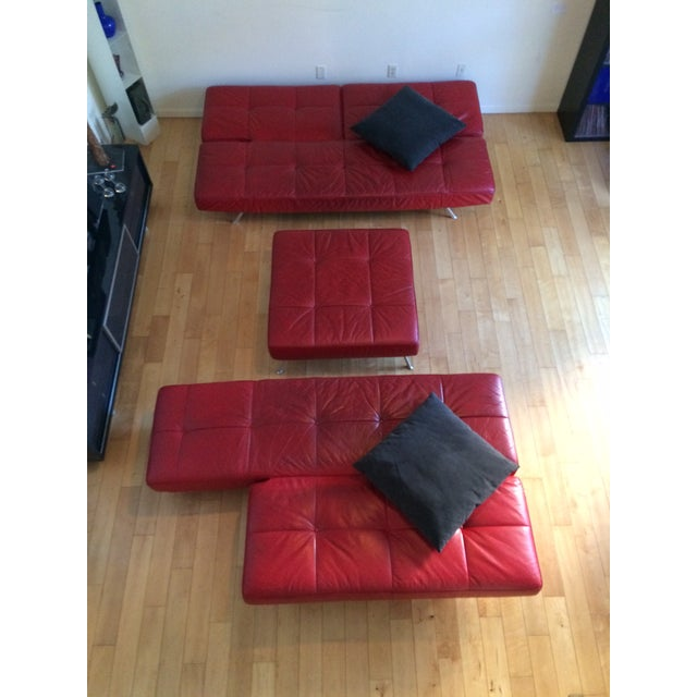 "Ligne Roset ""Smala"" Sofa Set & Pillows - Set of 3 For Sale In San Diego - Image 6 of 8"