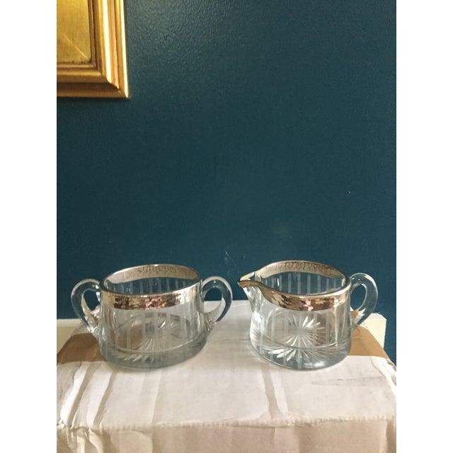 1930s Sugar Bowl & Creamer - A Pair - Image 2 of 4