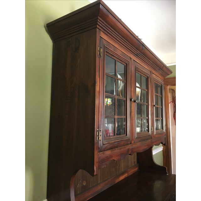 1970s Vintage Dining Room Hutch - Image 6 of 7