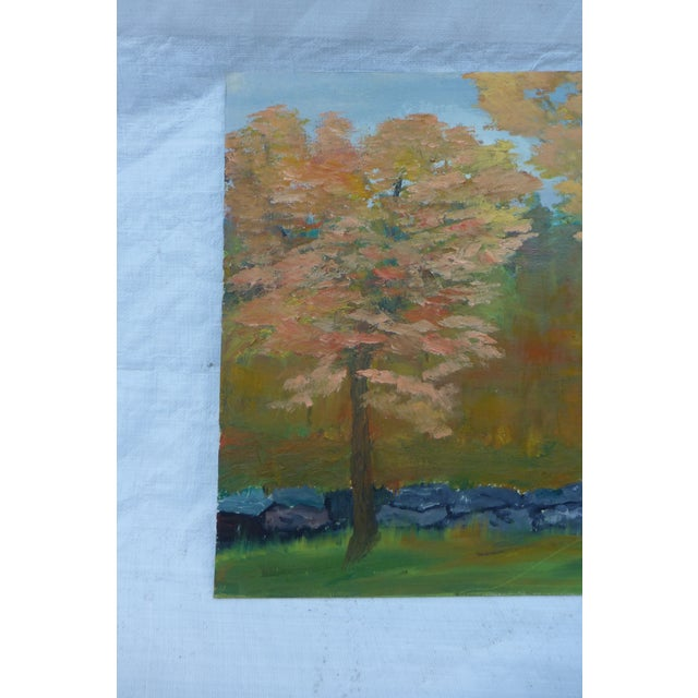 MCM Painting of New England Trees by H.L. Musgrave - Image 3 of 6
