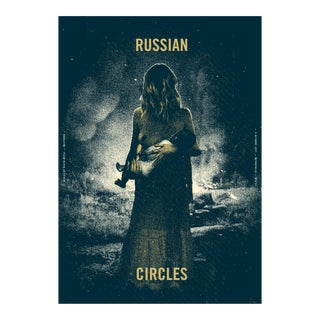 2017 Contemporary Music Poster - Russian Circles For Sale