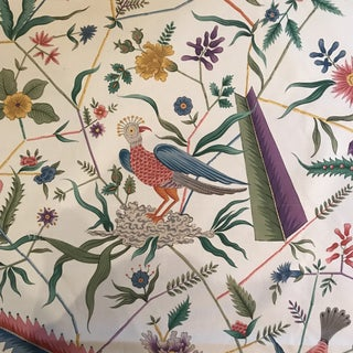 Clarence House Les Oiseaux Exotiques Fabric For Sale