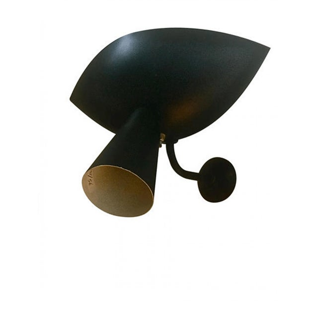 """Contemporary Serge Mouille Genuine Rare Pair of Model """"Cachan"""" Sconces For Sale - Image 3 of 5"""