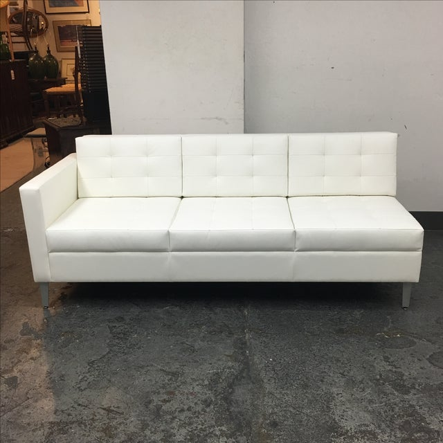Gunlocke Single Arm Ciji Sofa - Image 2 of 8