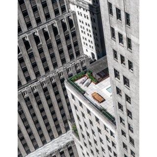 """Vertigo - New York City"" Contemporary Rooftop Cityscape Photograph For Sale"