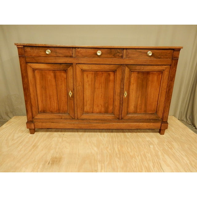 Early 19th C. Directoire' Walnut Enfilade For Sale - Image 10 of 10
