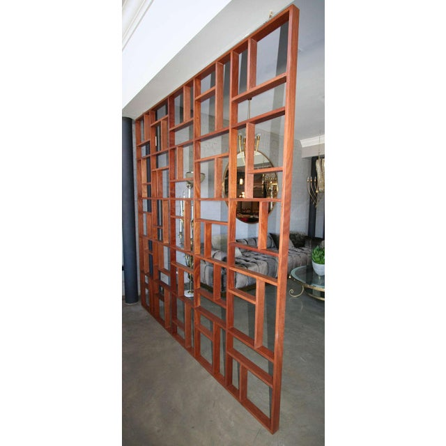 Mid Century Modern Geometric Room Divider For Sale In Los Angeles - Image 6 of 8