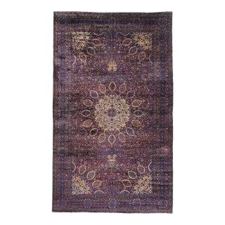 Antique Persian Kerman Rug, 13'10 X 22'10 For Sale