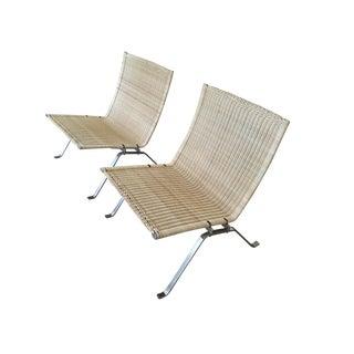 Vintage Poul Kjaerholm Danish Chairs- a Pair For Sale