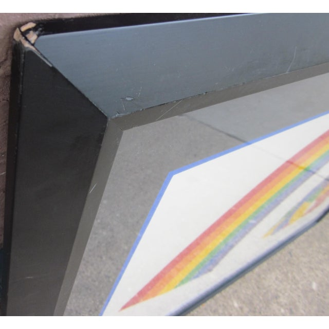 "1970s Vintage Werner Pfeiffer ""Tired Rainbow"" Limited Edition Signed Serigraph Print For Sale - Image 9 of 11"