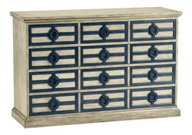 Image of Newly Made Antique White Chests of Drawers