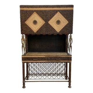Llyod Buxton Bar Cabinet For Sale