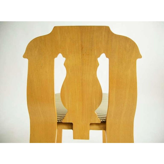Plastic Pair of Robert Venturi Empire Chairs For Sale - Image 7 of 10