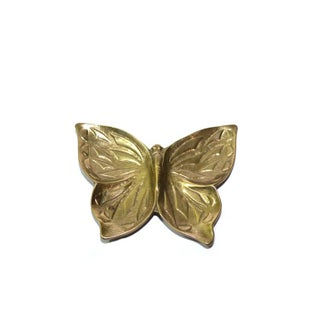 Vintage Brass Butterfly Ashtray Preview