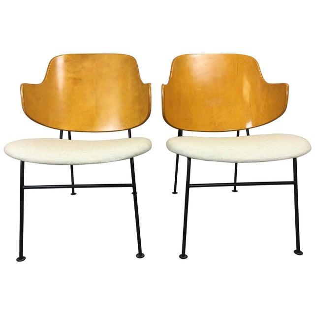 Ib Kofod Larsen Penguin Chairs - A Pair - Image 1 of 5