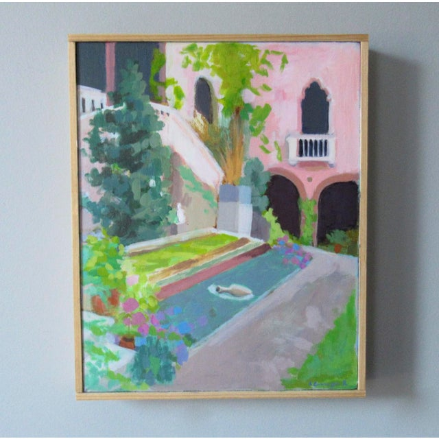 A painting, of one of my favorite places. Isabella Stewart Gardner was a leading American art collector, philanthropist,...
