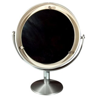 Large French Vanity Mirror, 1970s For Sale