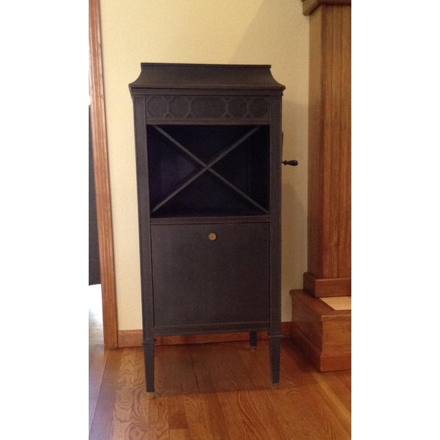 Antique Edison Phonograph Dry Bar For Sale - Image 13 of 13