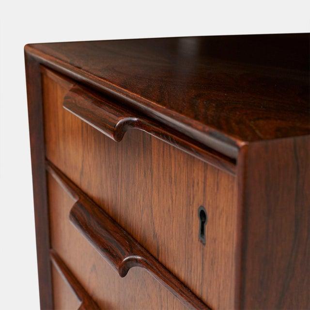 Omann Jun rosewood executive desk - Image 6 of 8