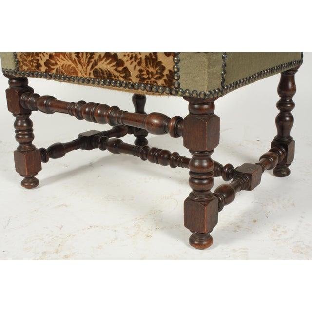 Textile 1890s Renaissance Revival-Style Armchair For Sale - Image 7 of 10