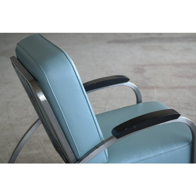 Retro Mid Century Modern Art Deco Chair For Sale - Image 4 of 8