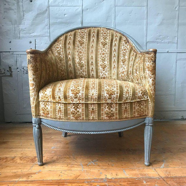 Pair of French Art Deco Style Armchairs - Image 2 of 9