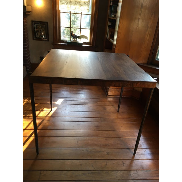 Iron Base Pub Table For Sale - Image 11 of 12