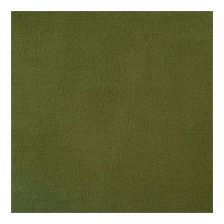 Lino Green Linen Fabric - 1 Yard For Sale