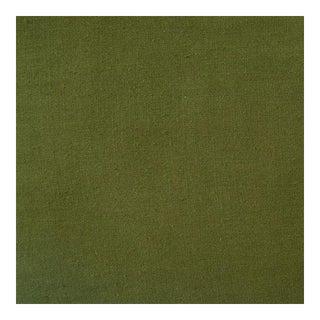 Lino Green Linen Fabric, Multiple Yardage