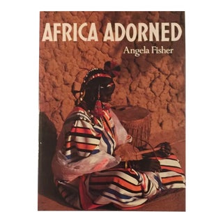 Vintage Late 20th Century Africa Adorned, Angela Fisher Out of Print For Sale