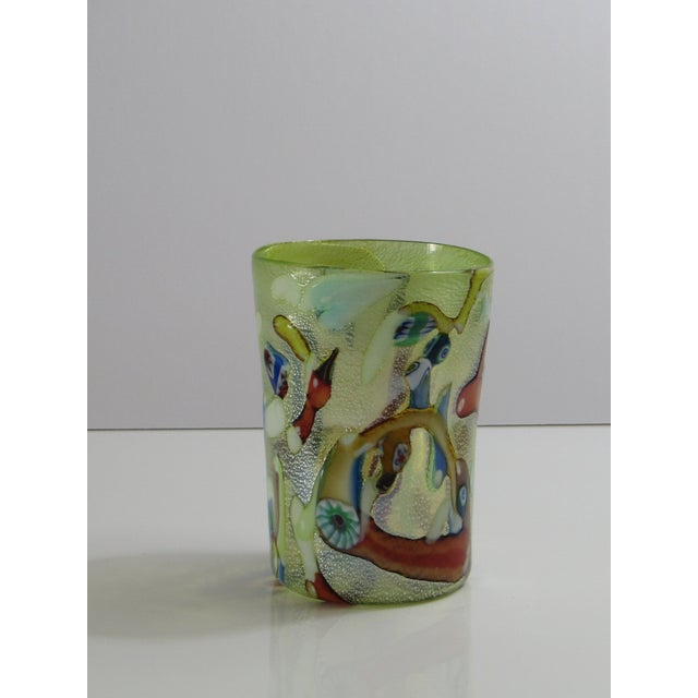 Custom Murano Drinking Glasses - Set of 6 For Sale In Miami - Image 6 of 9
