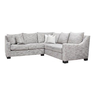 Modern Sherrill Sectional Sofa For Sale