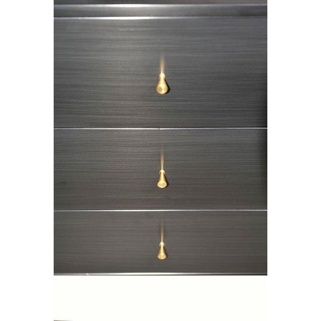 Paul McCobb 6 Drawer Planner Group Dresser on Iron Base For Sale In New York - Image 6 of 7