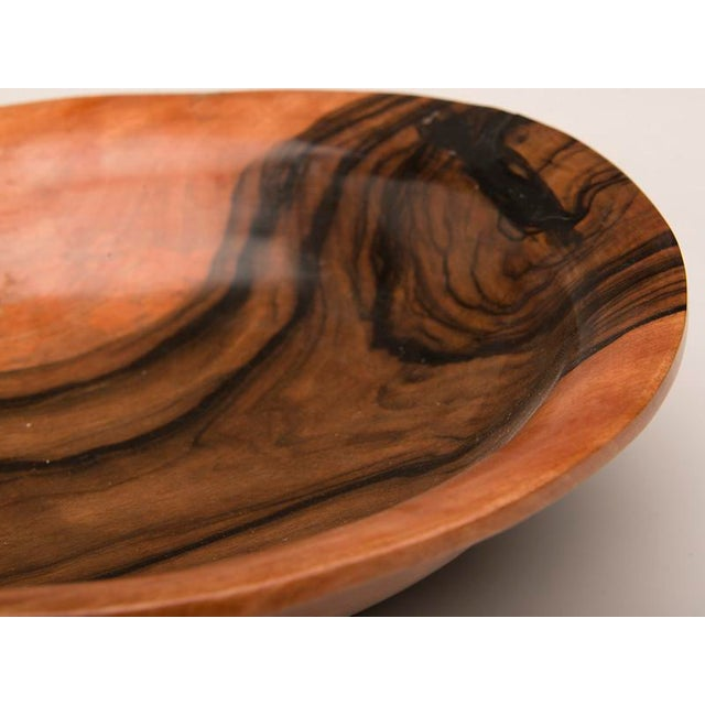 English Coromandel Wood Hand Made Bowl For Sale In Houston - Image 6 of 7