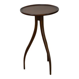 Theodore Alexander Round Spyder Leg Mid Century Modern Style Side Table For Sale