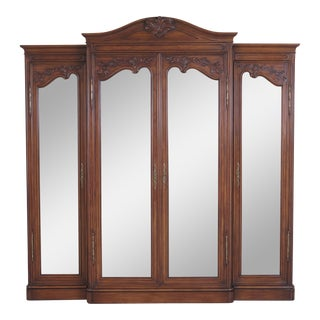 Karges French Walnut Curio
