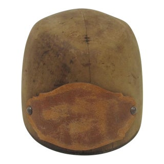 Antique Wooden Hat Mold For Sale