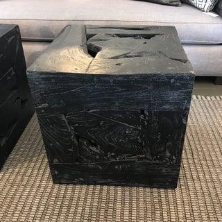Organic Modern Teak Cube Table Preview