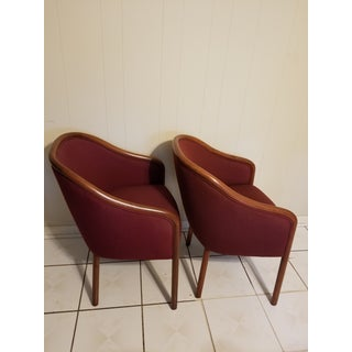 Vintage Mid Century Ward Bennett Chairs- A Pair Preview