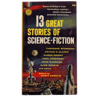 """13 Great Stories of Science-Fiction"" First Printing"