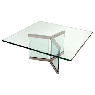 Leon Rosen Designed Cocktail Table for Pace For Sale
