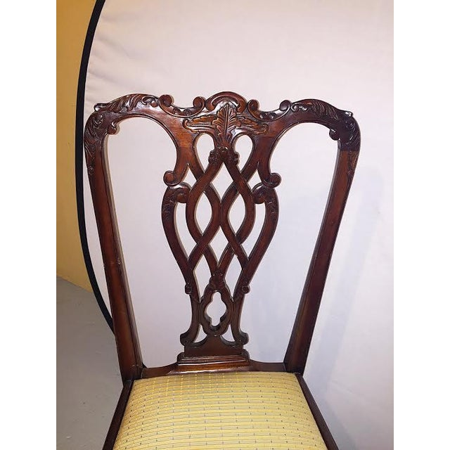 Georgian Style Dining Chairs - Set of 8 - Image 4 of 9