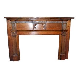 19th Century American Pine Mantel