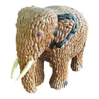 Petite Boho Chic Elephant Sculpture