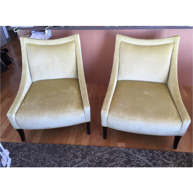 Baker Tivoli Lounge Chairs- A Pair For Sale - Image 9 of 10