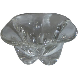 Mid-Century Swedish Orrefors Glass Bowl For Sale