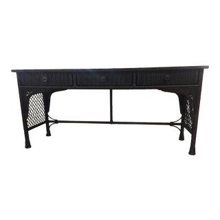 Barclay Butera Lifestyle Baye Console Table For Sale