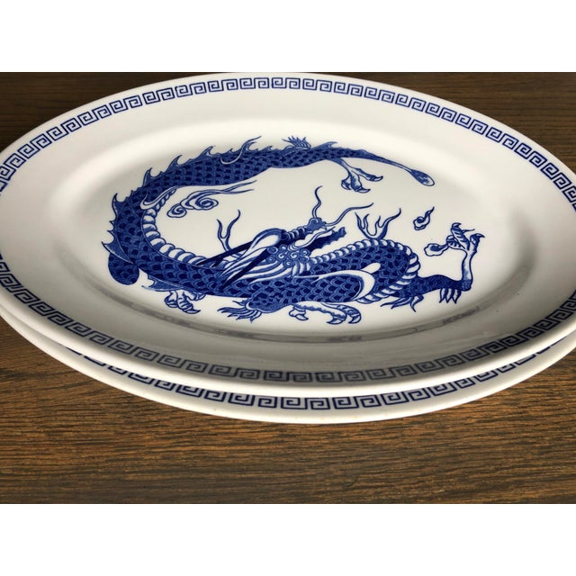 Double Phoenix Nikko Oval Dishes - A Pair For Sale In Charlotte - Image 6 of 7