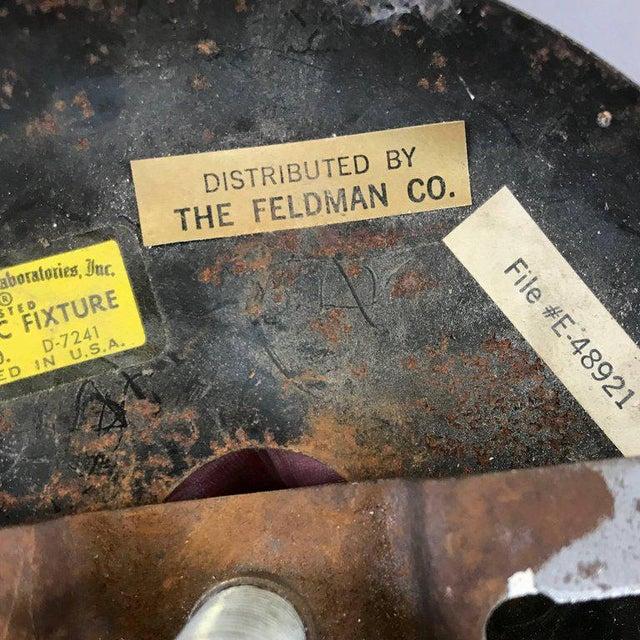 Gold Tom Greene for Feldman Brutalist Brass Chandelier For Sale - Image 8 of 9