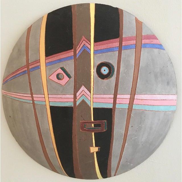 Louis Mendez Studio Pottery Wall Mask - Image 2 of 5